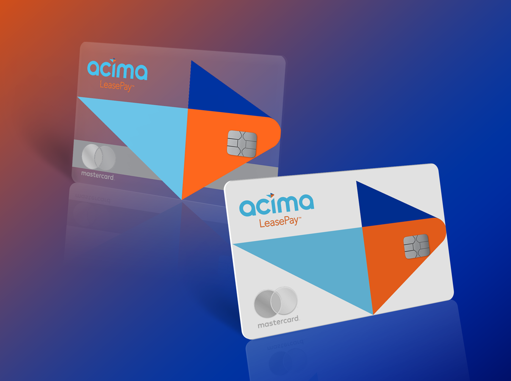 Acima LeasePay mastercard virtual card