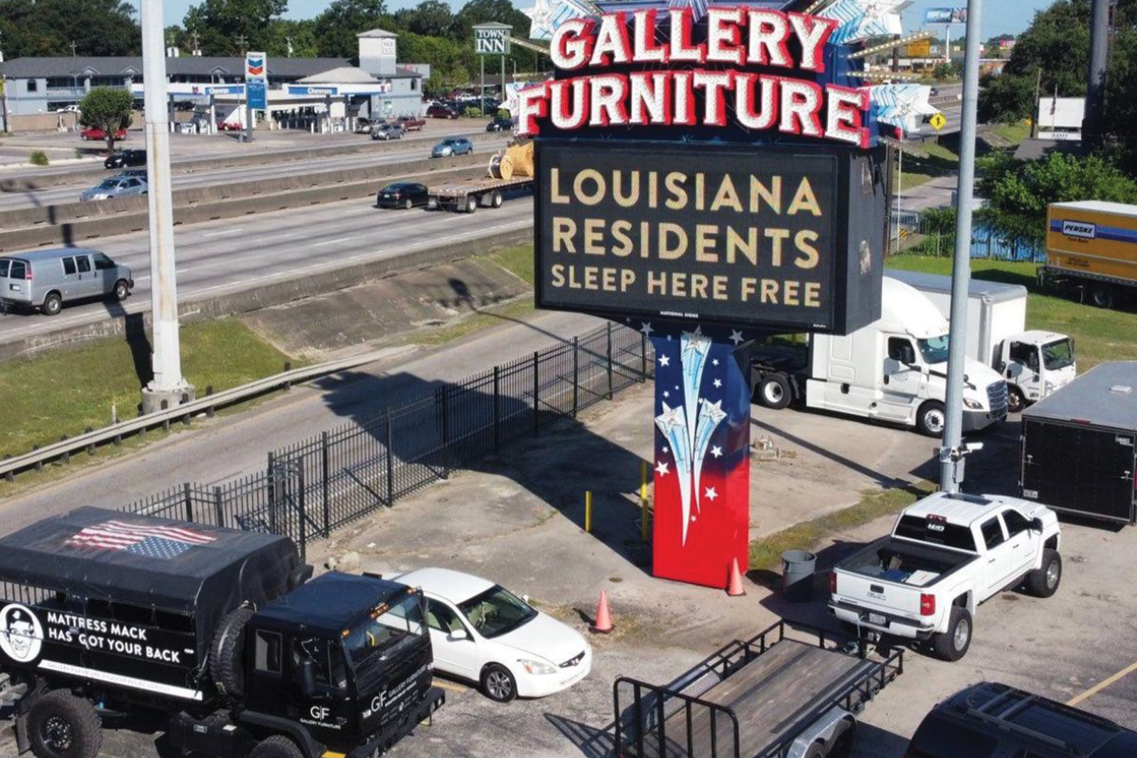 Gallery Furniture Store Front